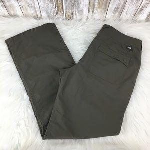 The North Face sz 6 A757 gray hiking pants capri